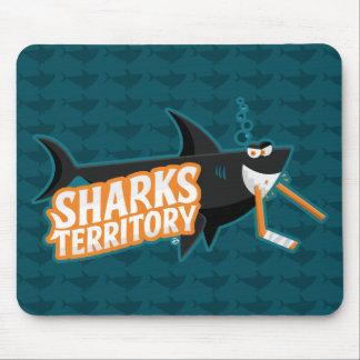 Território dos tubarões - Mousepad