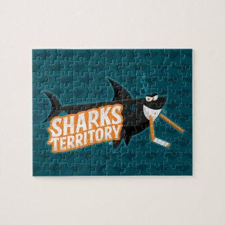Território dos tubarões - quebra-cabeça