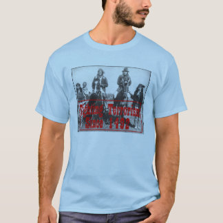 terrorismo de combate desde 1492 camiseta