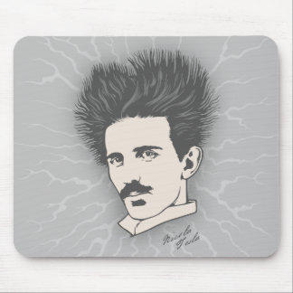Tesla estático mouse pad