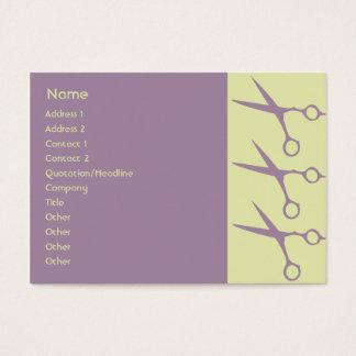 Tesouras - carnudos cartão de visitas