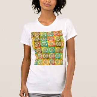 Tessellation floral camiseta