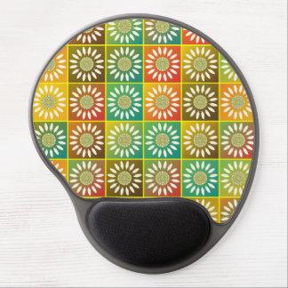 Tessellation floral mouse pad de gel
