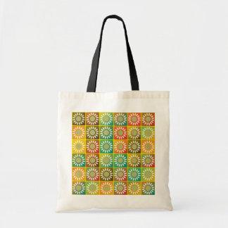 Tessellation floral sacola tote budget
