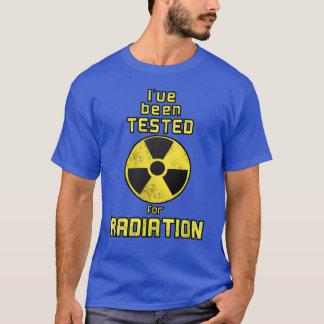 Testado para a camisa da radiação