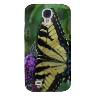 teste de Personalized~ da borboleta do capa iphone Capa Samsung Galaxy S4