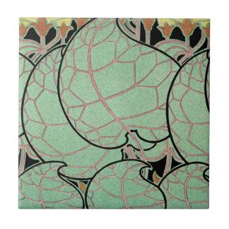 Teste padrão #10 de Nouveau da arte Azulejos