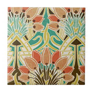 Teste padrão #11 de Nouveau da arte Azulejo De Cerâmica