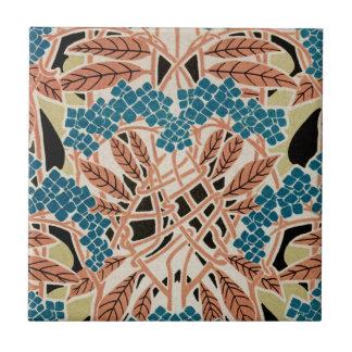 Teste padrão #12 de Nouveau da arte Azulejo