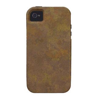 Teste padrão 3 TPD da textura de Brown Capinhas Para iPhone 4/4S