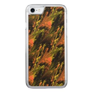 Teste padrão abstrato capa iPhone 8/ 7 carved