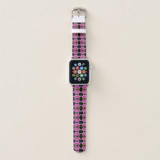 Teste padrão abstrato cor-de-rosa das flores de
