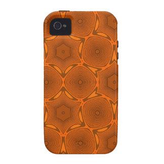 Teste padrão abstrato da laranja
