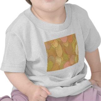 Teste padrão abstrato do bege tshirt