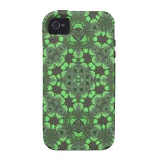 Teste padrão abstrato verde