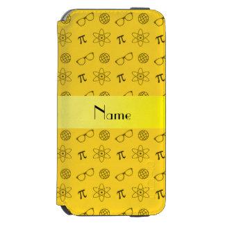 Teste padrão amarelo conhecido personalizado do