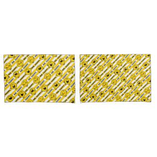 Teste padrão amarelo das listras do Sr. Feliz |
