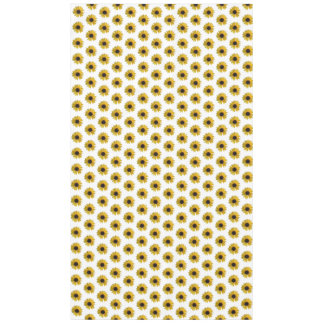 Teste padrão amarelo do girassol toalha de mesa