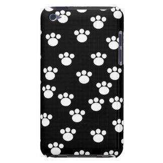 Teste padrão animal preto e branco do impressão da capa para iPod touch