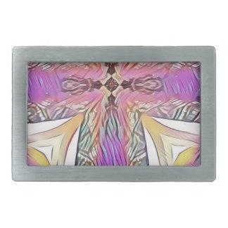 Teste padrão artístico do vitral da cruz Pastel da