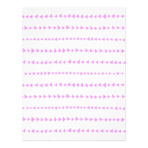 Teste padrão asteca branco cor-de-rosa das setas modelos de panfleto