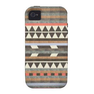 Teste padrão asteca de Brown Capas Para iPhone 4/4S