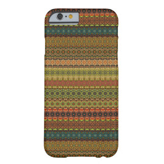 Teste padrão asteca tribal do vintage capa barely there para iPhone 6