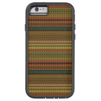 Teste padrão asteca tribal do vintage capa iPhone 6 tough xtreme