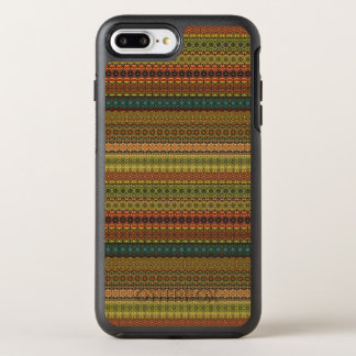 Teste padrão asteca tribal do vintage capa para iPhone 8 plus/7 plus OtterBox symmetry