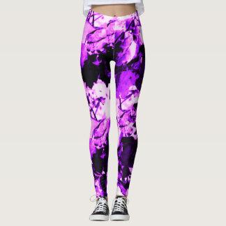 Teste padrão atrativo leggings