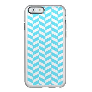 Teste padrão azul brilhante branco da modificação capa incipio feather® shine para iPhone 6