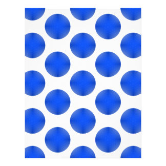 Teste padrão azul da bola de golfe papéis de carta personalizados