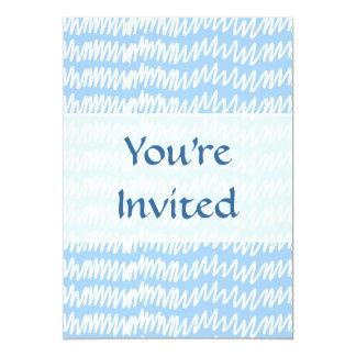 Teste padrão azul e branco da luz - do squiggle convite