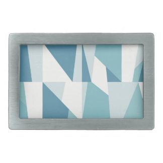 Teste padrão azul geométrico