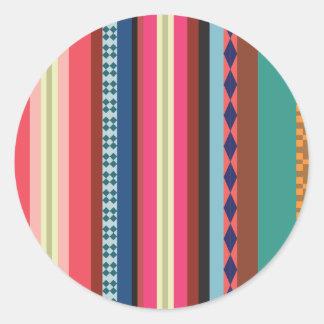 Teste padrão boliviano adesivo