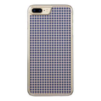 Teste padrão bonito da verificação do guingão dos capa iPhone 7 plus carved