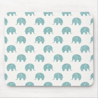 Teste padrão bonito do elefante da cerceta