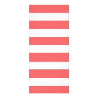 Teste padrão branco coral moderno das listras planfetos informativos coloridos