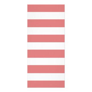 Teste padrão branco das listras do pêssego moderno modelos de panfletos informativos