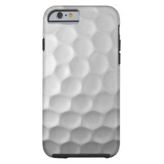 Teste padrão branco do Golfball do caso do iPhone Capa Tough Para iPhone 6
