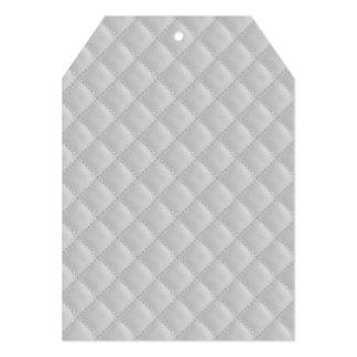 Teste padrão branco gelado da edredão do Natal Convite 12.7 X 17.78cm