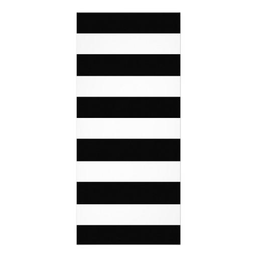 Teste padrão branco preto moderno das listras modelo de panfleto informativo