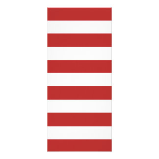 Teste padrão branco vermelho moderno das listras panfleto informativo