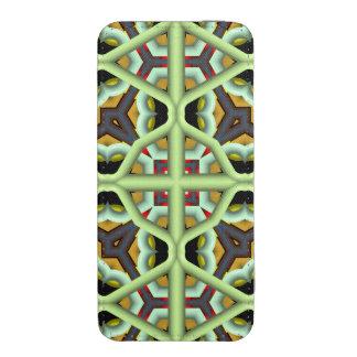 Teste padrão colorido abstrato do caleidoscópio bolsa de celular
