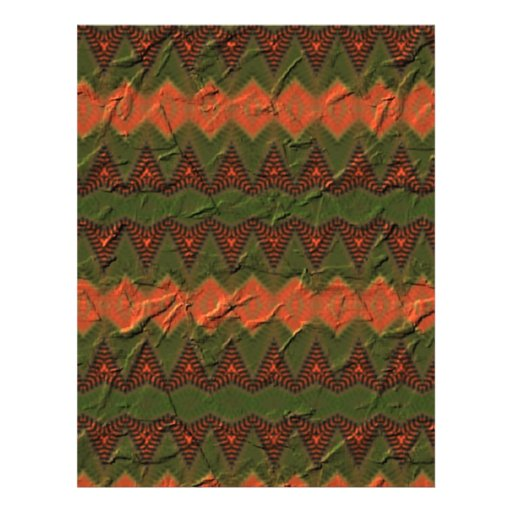 Teste padrão colorido com formas da seta panfletos personalizado