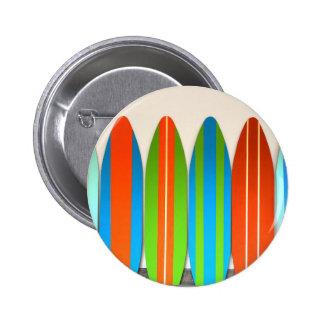 Teste padrão colorido Deisgn da prancha Bóton Redondo 5.08cm
