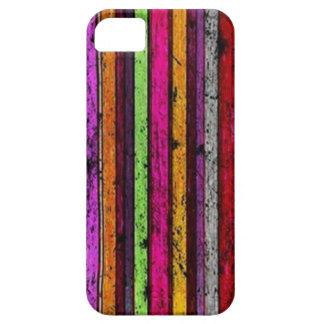 Teste padrão colorido do Grunge - caso do iPhone 5 Capa Barely There Para iPhone 5