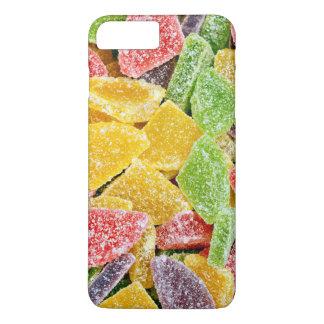 Teste padrão colorido dos doces doces capa iPhone 7 plus