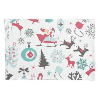 Teste padrão colorido engraçado de Christmassy