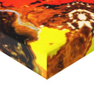Teste padrão colorido impressão em tela